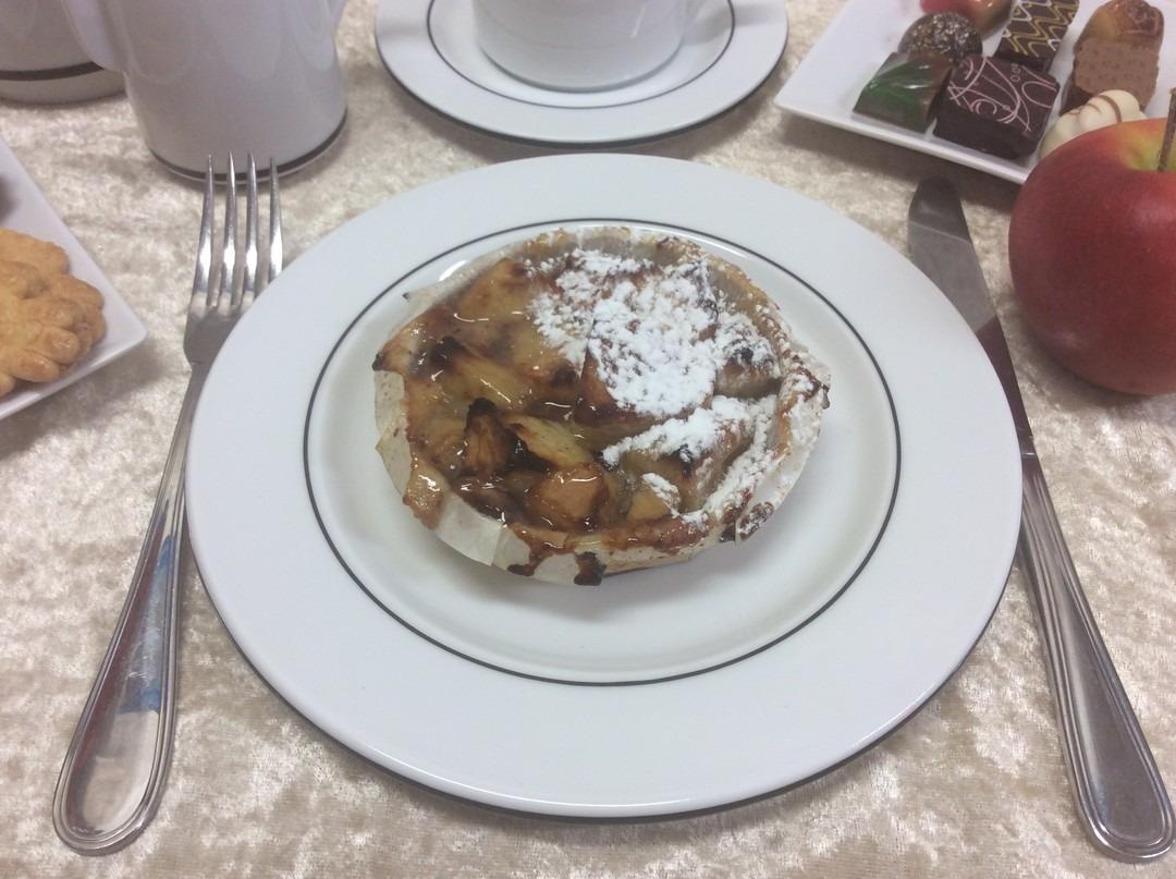 Appel-frangipane taartje ( 1 pers. )  - Bakkersonline
