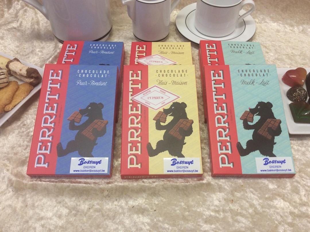 Pure chocolade Perrette repen  - Bakkersonline