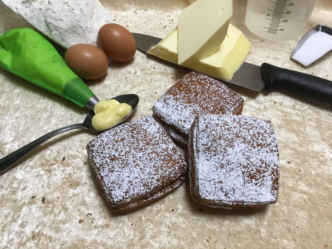 Crème koek bloemsuiker - Bakkersonline