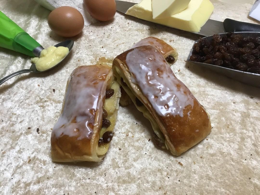 Lange rozijnen koek - Bakkersonline