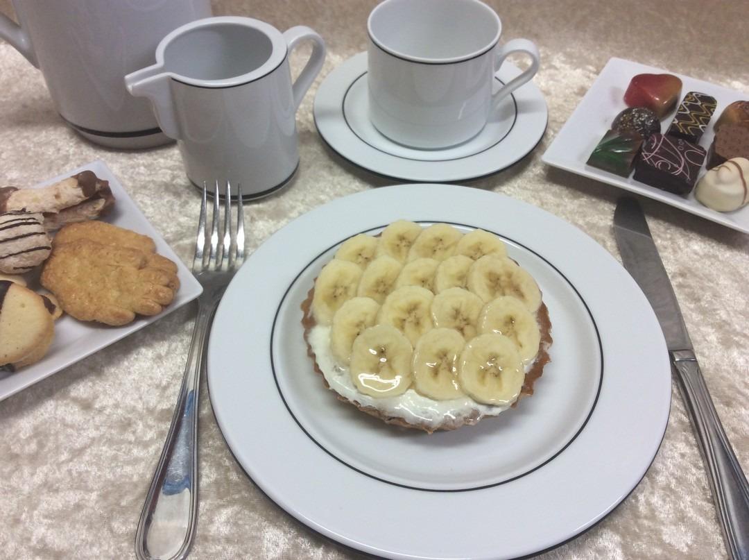Bananen taartje (1 pers.) - Bakkersonline