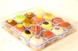 Petit-fours doosje 16 stuks - Bakkersonline