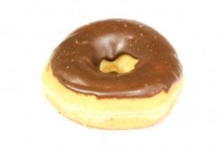 Donut chocolade - Bakkersonline