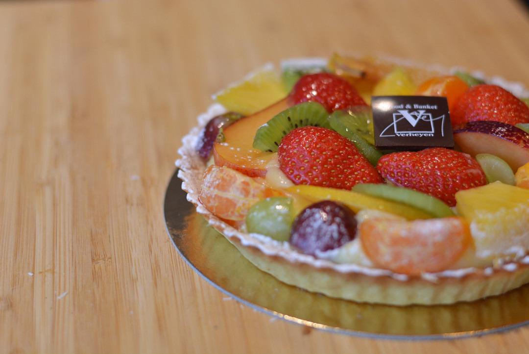 Vers fruittaart (8 pers.) - Bakkersonline