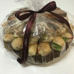 Sandwiches 10 mini belegd vis - Bakkersonline