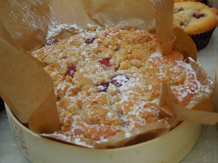 Crumblecake met frambozen - Bakkersonline