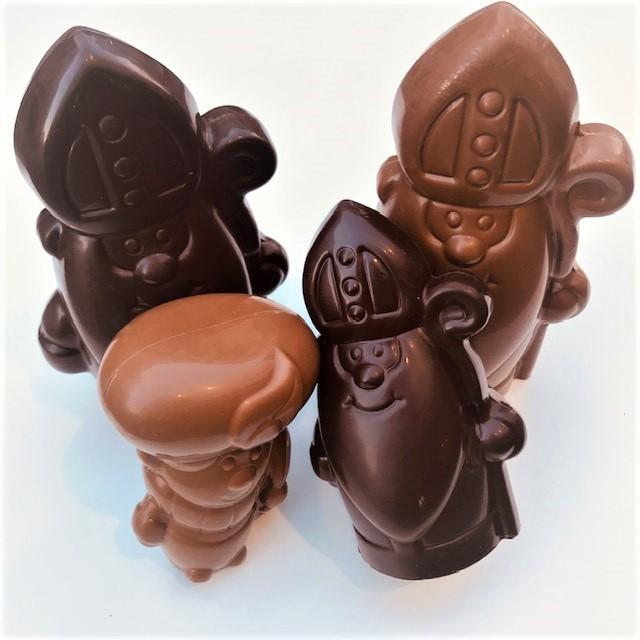 Chocoladefiguren sint effen - Bakkersonline