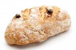 Rozijnenbrood bruin klein niet gesneden - Bakkersonline