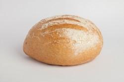 Licht bruin brood rond - Bakkersonline