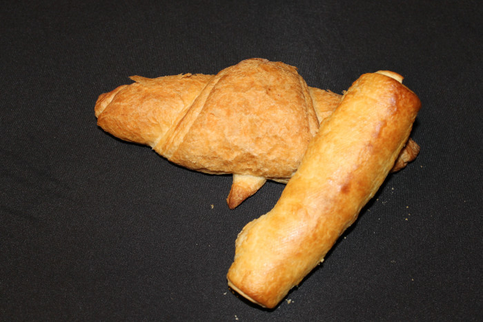 croissant met kaas en hesp - Bakkersonline