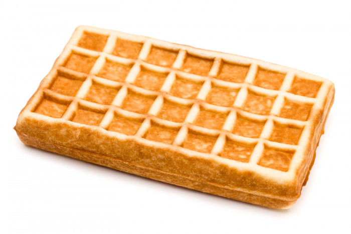 Wafel met abrikozen - Bakkersonline