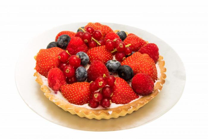 Rode vruchtentaart - Bakkersonline