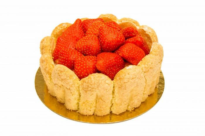 Aardbeienbavarois - Bakkersonline