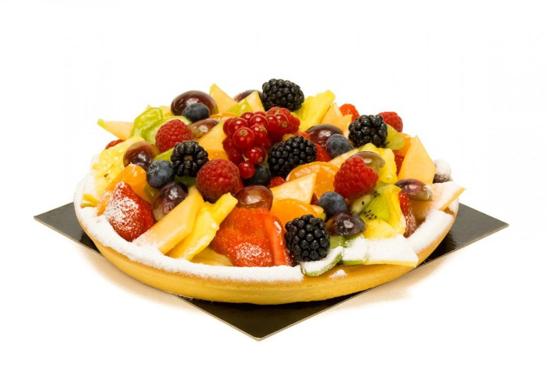 Fruitvlaai 10 personen - Bakkersonline