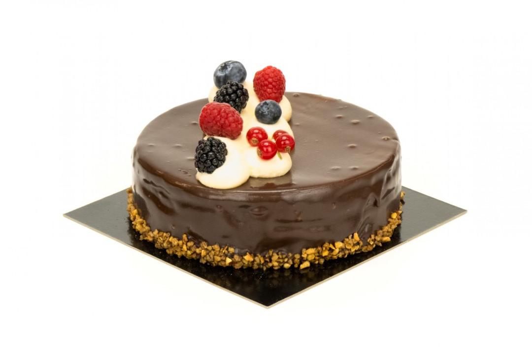 Chocolade taart 12 personen - Bakkersonline