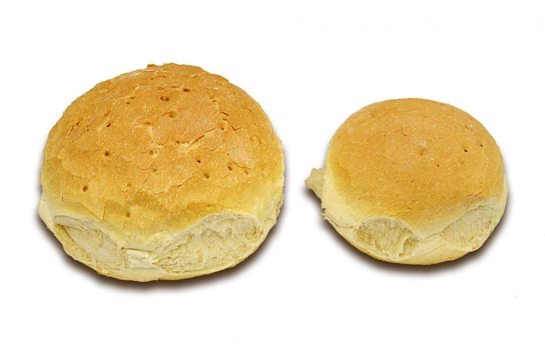 Klein rond wit brood Gesn. 400 Gr. - Bakkersonline