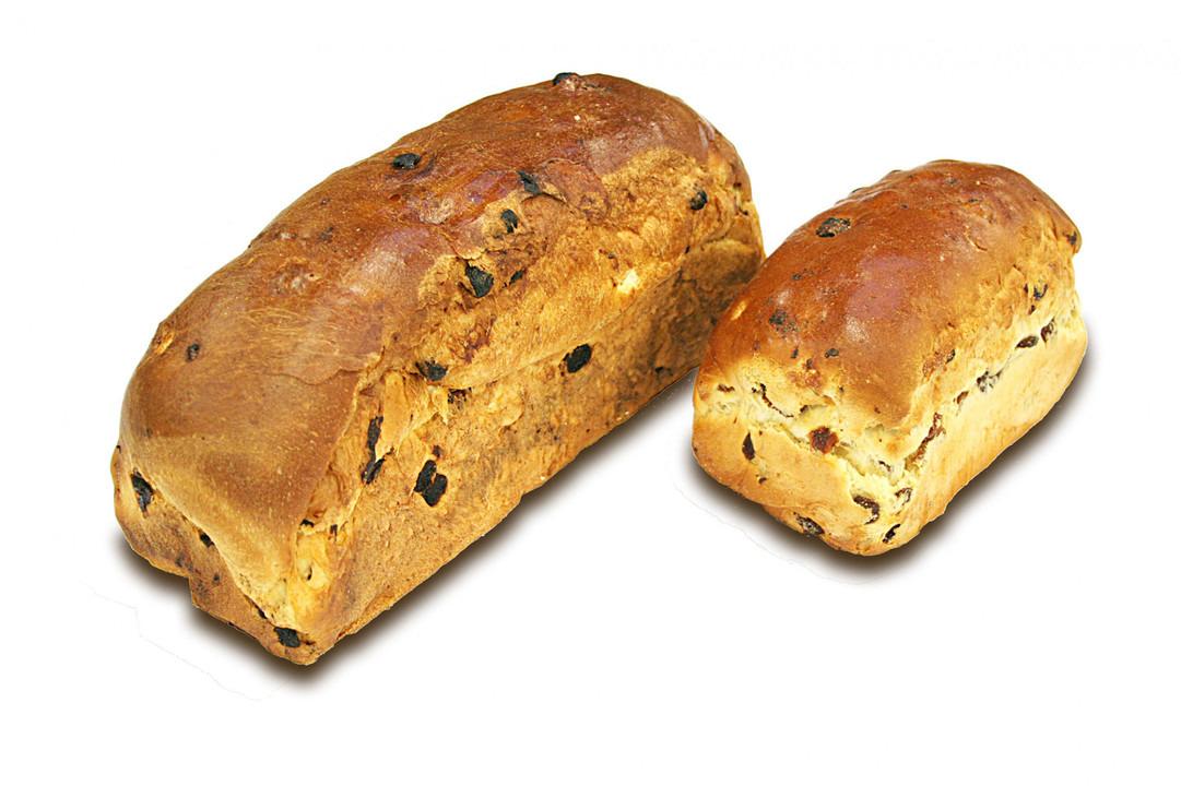 Groot rozijnenbrood Gesn. 800 Gr. - Bakkersonline
