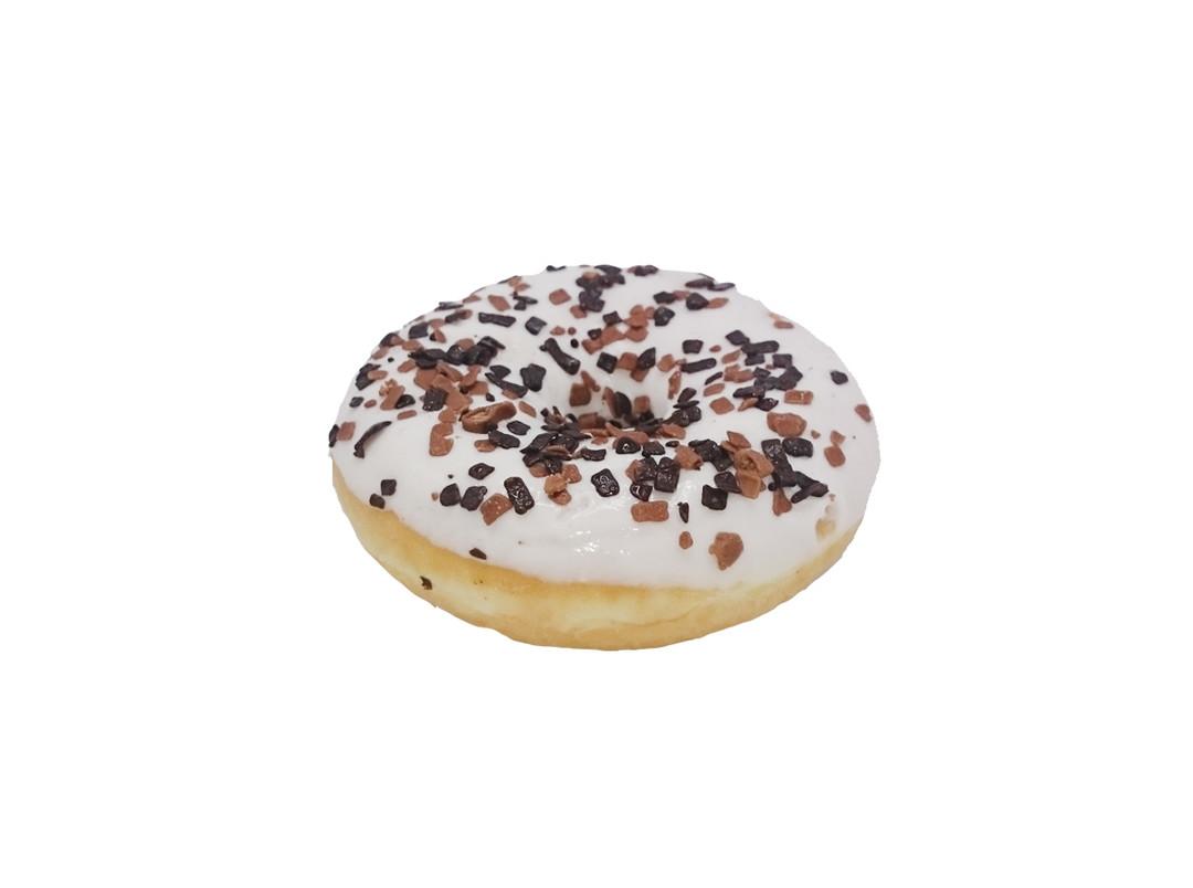 Donut Wit & Chocolade - Bakkersonline