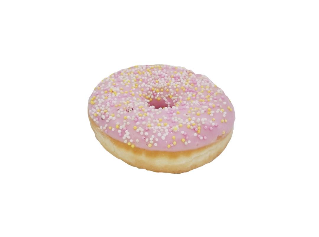 Donut Licht Roos - Bakkersonline