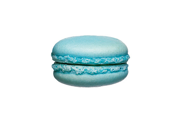Macaron blauw1 st. - Bakkersonline