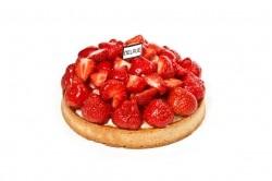 Croute aardbeien - Bakkersonline