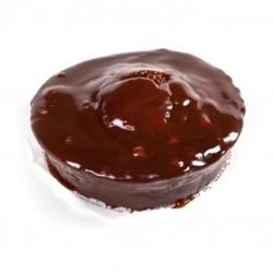 Cake chocolade overgoten met ganache - Bakkersonline