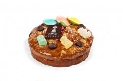 Cake van./choc. met snoepjes - Bakkersonline