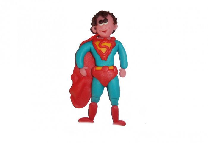 Taartdecoratie: Superman - Bakkersonline