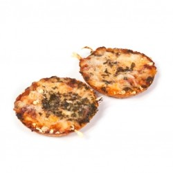 Warm hapje pizza 1 stuks - Bakkersonline