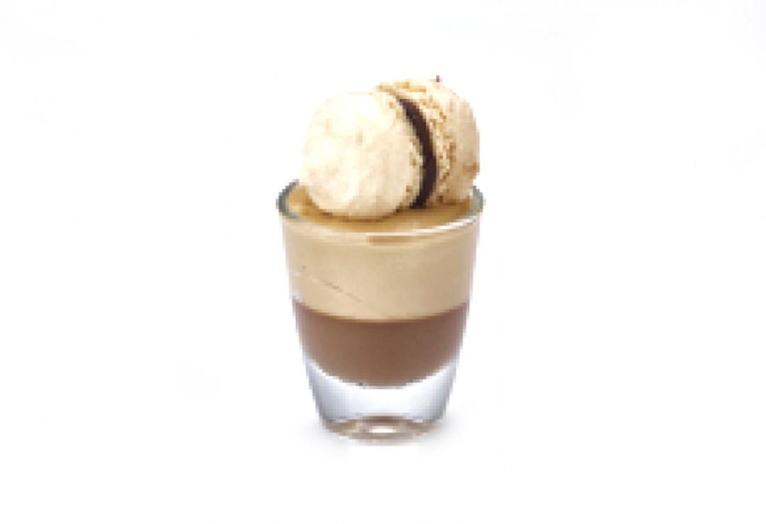 Mini glaasje Pan. cot. choc / bav. prali - Bakkersonline