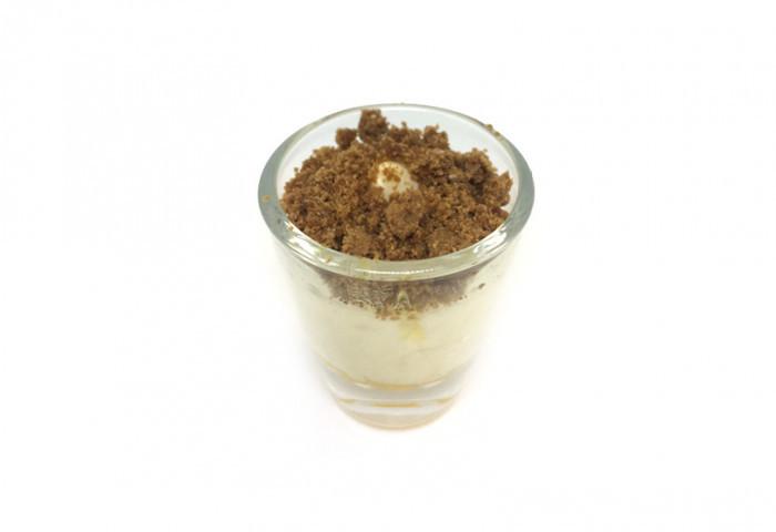 Mini glaasje riz condé - speculoos - Bakkersonline