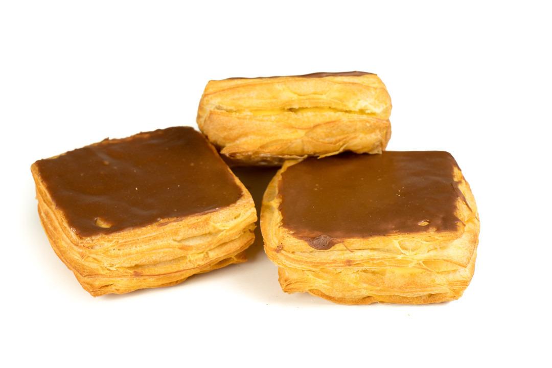Crèmekoek met chocolade - Bakkersonline