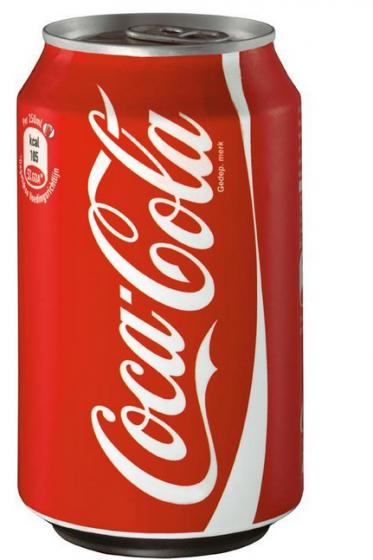 Cola blik  - Bakkersonline