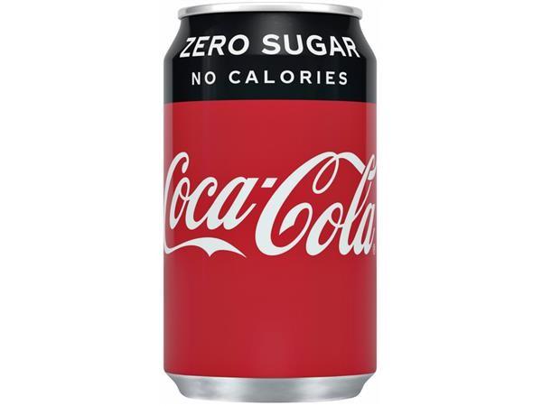 Cola zero blik  - Bakkersonline